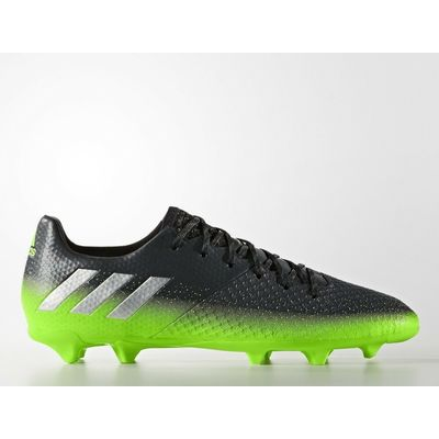 Adidas Messi 16.2 Firm Ground football boots S79630 grey silver metallic green