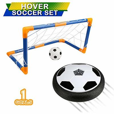 BelleStyle Kids Toys Air Power Soccer Ball,Hover Soccer Ball Set with Pneumatic Suspended Football Foam Bumpers LED Lights