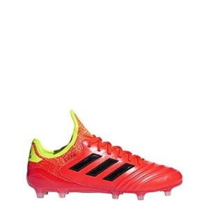 adidas Copa 18.1 FG Cleat Men's Soccer 6.5 Solar Red-Core Black-Yellow