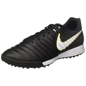 Nike Men's Tiempox Ligera Iv Tf Footbal Shoes, Black/White, 6.5 UK 40.5 EU