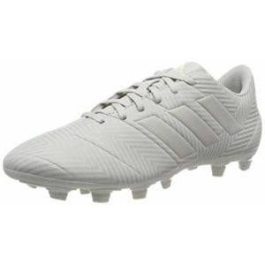 adidas Men's Nemeziz 18.4 FxG Footbal Shoes, Grey (Ash F18/Ash Silver F18/White Tint S18) 9 UK