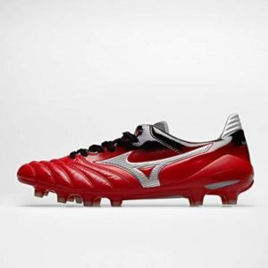 Mizuno Mens Morelia Neo II Japan MD FG Football Boots Soccer Shoes UK 9.5 Red