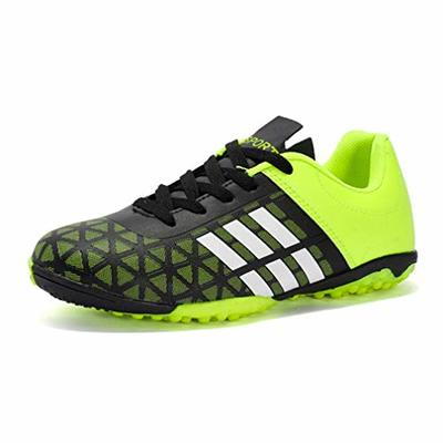 Men's Football Boots Breathable Mesh Soccer Trainers Cleats Indoor Outdoor Sport Shoes Wear-Resistence Turf Soccer Sneakers for Men and Boys