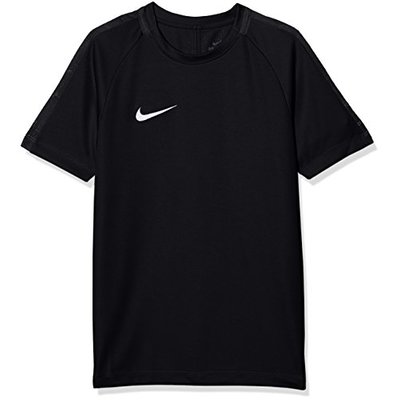 Nike Kids Dry Academy 18 Short Sleeve Top – Black/Anthracite/White, Large