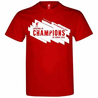 OFFICIAL LIVERPOOL CHAMPIONS LEAUGE WINNERS 2019 (XX-Large)
