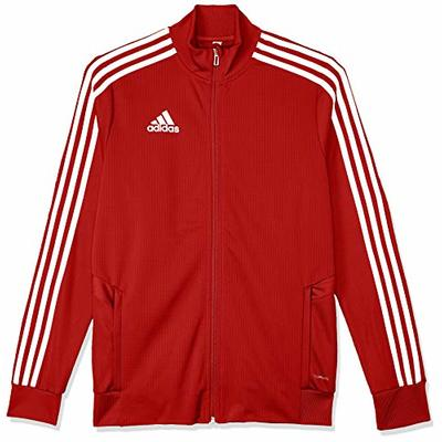 Adidas Kid's TIRO19 TR JKTY Jacket, Power Red/Red/White, Size 7-8A (Manufacturer size:S)