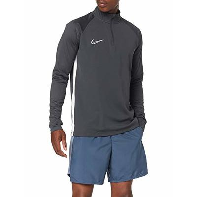 Nike Men's Academy 19 Drill Top Long Sleeve Soccer Jersey, Antracite_Nero_Bianco, L