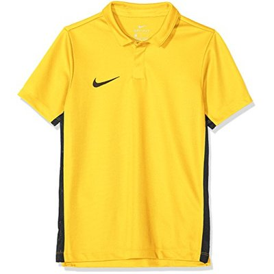 Nike Kids Dry Academy 18 Shortsleeve Polo – Tour Yellow/Anthracite/(Black), M