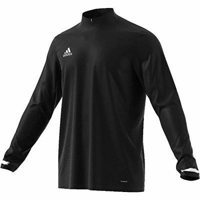 Adidas T19 Team Wear Men's TRACK JACKETS Quarter Zip Climalite 2019 Sports Top