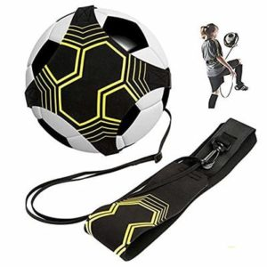 BJ-SHOP Football Kick Trainer,Football Training Aid Soccer Solo Skill Practice Universal Fits #3#4#5 Footballs for Kids Adults