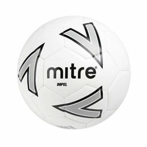 Mitre Impel Training Football Without Ball Pump, White, Size 4