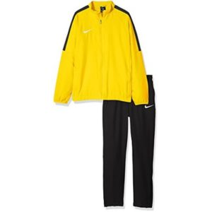 Nike Kids Dry Academy 18 W Warm Up Suit – Tour Yellow/Black/Anthracite/Black, Large