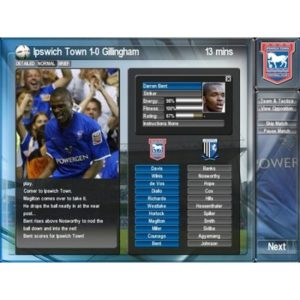 IPSWICH TOWN CLUB MANAGER SEASON 2003/04 – FOOTBALL PC GAME – COMPLETE – VGC