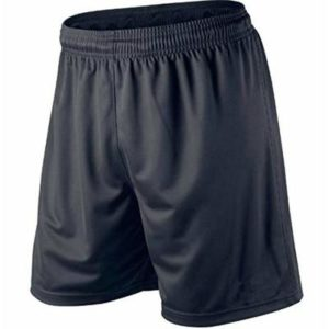 MENS SPORT SHORTS FOOTBALL GYM XS – S – M – L – XL – XXL (Large, Black)