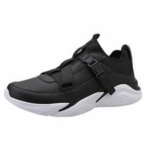 BALUOBO Men's Cross-Trainer Shoes Lightweight Casual Walking Running Sneakers for Athletic Sports Gym Tennis Workout Black