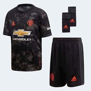 ADIDAS Infants Manchester United 2019/2020 Mini 3rd Kit (18M-6Y) (Black)