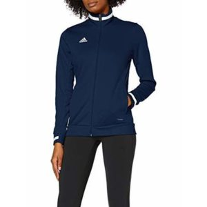Adidas T19 Team Wear Women's TRACK JACKETS Full Zip Climalite 2019 Sports Top