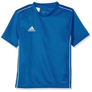 Adidas Kids Core 18 Jersey, Bold Blue/White, Size 164 (Manufacturer Size: 13-14 Years)