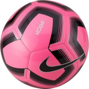 Nike Pitch Training Soccer Ball Pink Blast/Black, 5 – Soccer Equipment at Academy Sports