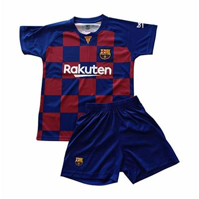 T-shirt and pants set 1st kit FC. Barcelona 2019-20 – Replica with a License – Without dorsal – Boys size 8 years