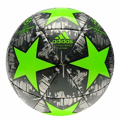 adidas Champions League Football Professional Europe Tournament Ball Adults Silver/Green Size 5