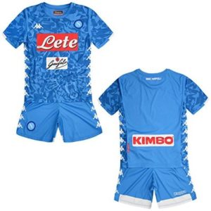 SSC Napoli azure fantasy junior home match kit, blue, 10 years