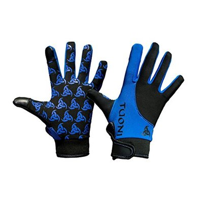 Tuoni Junior Thermal Multi sports glove with silicone grip. Ideal for Football, Rugby, Hockey, Mountain Biking, Cycling, Running & Netball. With touch screen tips. (XXXS)