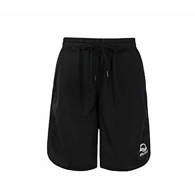 QRANSS Quick Dry Sport Shorts Men's Breathable Workout Training Running Shorts with Zipper Pockets