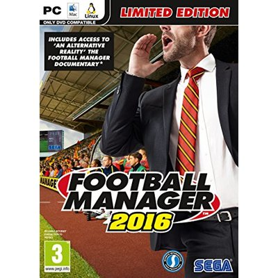 Football Manager 2016 (PC DVD)