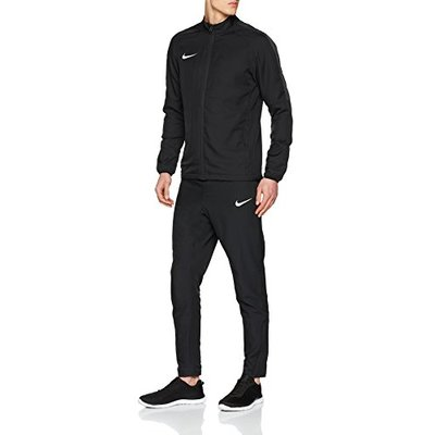 Nike Men Dry Academy 18 W Warm Up Suit – Black/Black/Anthracite/White, XL