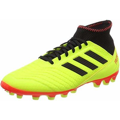 adidas Predator 18.3 Ag, Men's Football Boots, Yellow (Amasol/Negbás/Rojsol 000), 8 UK (42 EU)
