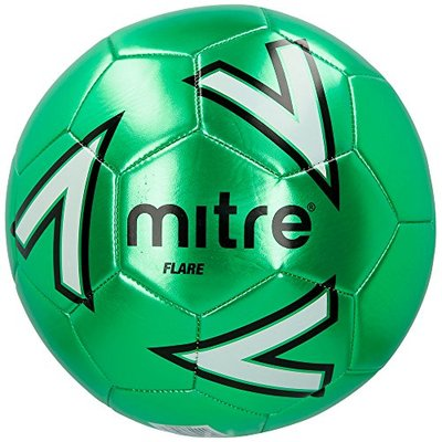 Mitre Flare Football, Green/White, Size 5