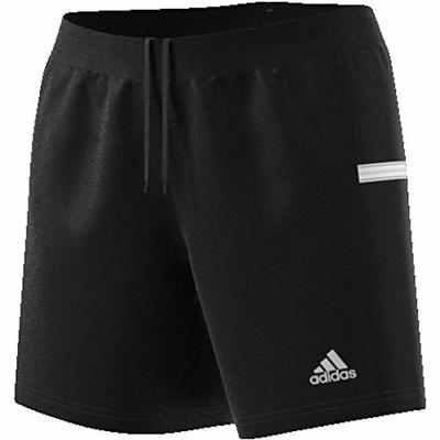 Adidas Women's T19 Kn Sho W Shorts, Black/White, Medium