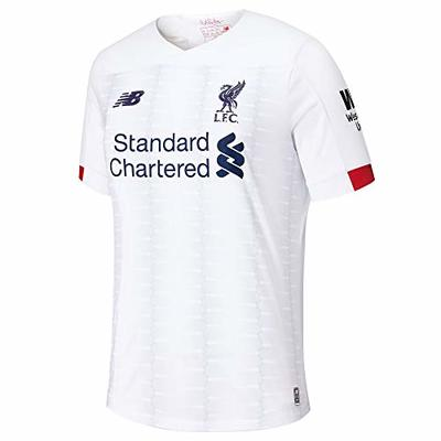 New Balance Men's LIVERPOOL FC 2019/20 AWAY SS JERSEY S/s Top, Large