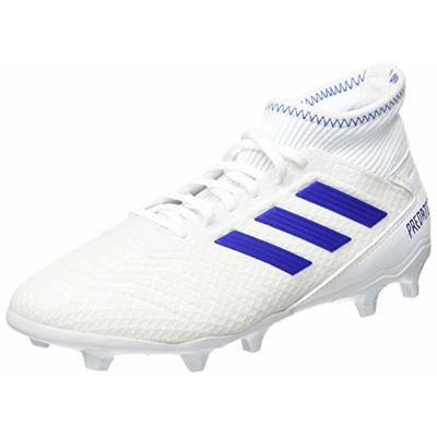 adidas Men's Predator 19.3 Fg Footbal Shoes, Multicolour (FTWR White/Bold Blue/Bold Blue Bb9333), 7.5 UK