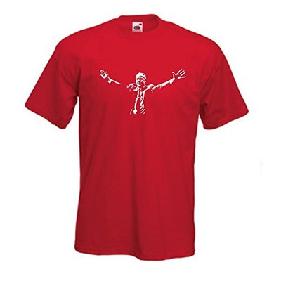 Bill Shankly ' Shanks ' Of Liverpool FC Football Club Team T-Shirt (Extra Large)