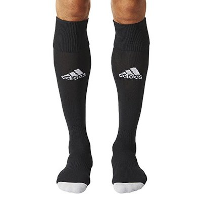 Adidas Unisex adults Milano 16 Socks, Black/White, 8.5-10 UK (43-45 EU) 1 pair