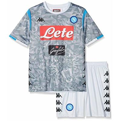 SSC Napoli grey fantasy junior third match kit, grey, 6 years
