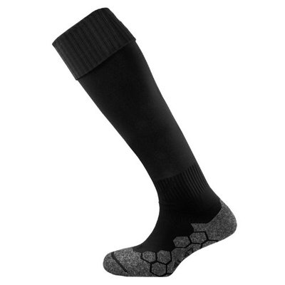 Mitre Men's Division Plain Football Sock, Black, Junior/3-6