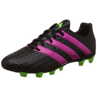 Adidas Performance ACE 16.4 FxG Black Pink Men Football Shoes