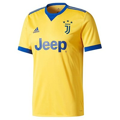 adidas Men's Replica Turin Juventus Away Shirt, Men, BQ4530, Bogold/Croyal, M