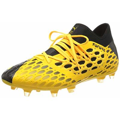 PUMA Men's Future 5.3 Netfit Fg/ag Football Boots, Yellow (Ultra Yellow Black 03), 12 UK 47 EU