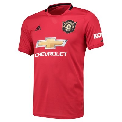 Manchester United Home Shirt 2019 – 20