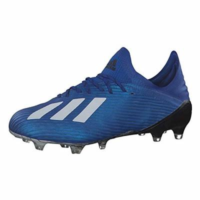 adidas Men's X 19.1 Firm Ground Football Shoe, Royblu Ftwwht Cblack, 7 UK