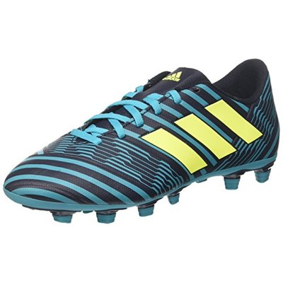 adidas Nemeziz 74 Fxg, Men's Footbal Shoes, Multicolor (Legend Ink /solar Yellow/energy Blue ), 8.5 UK (42 2/3 EU)
