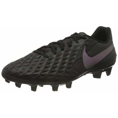 Nike LEGEND 8 ACADEMY FG/MG, Men's Football Shoe, BLACK/BLACK, 9 UK (44 EU)