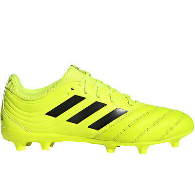 adidas Performance Mens Copa 19.3 Firm Ground Football Training Boots – Yellow