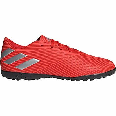 adidas Mens Nemeziz 19.4 Astro Turf Trainers Football Boots Lace Up Studs Red/Silver UK 11 (46)