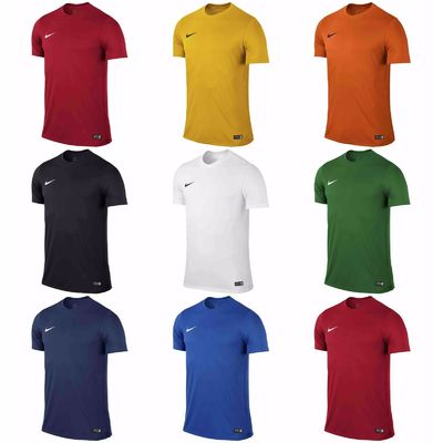 Boys Nike Park T Shirts Sports Football Gym Kids Training Top Dri Fit Jersey