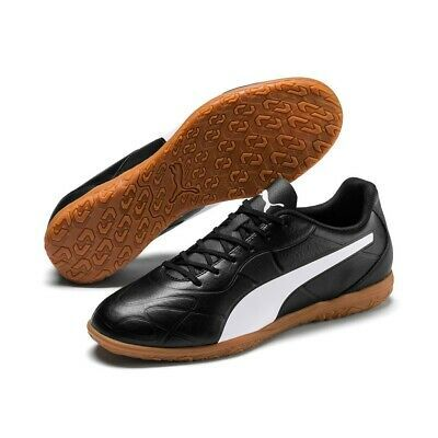 Puma Men's Football Boot Indoor Hallenfussball 105675 Black